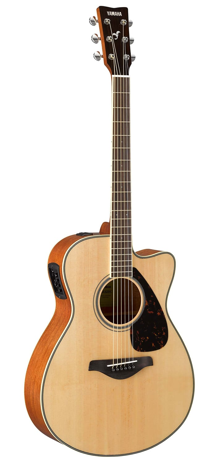 yamaha fsx820c solid top small body acoustic electric guitar reverb. Black Bedroom Furniture Sets. Home Design Ideas