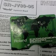 ROLAND SR-JV80-05 'World' Expansion Board - Full Working Order