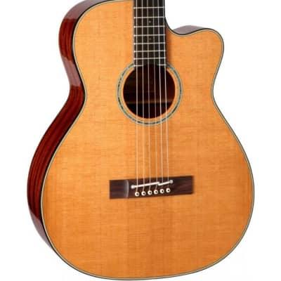 Takamine EF740FS Thermal Top Acoustic Guitar Natural