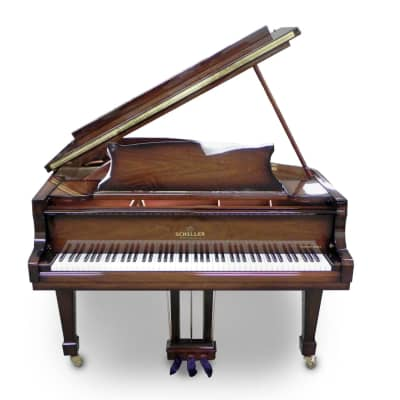 Schiller Concert Grand Piano 5.10 Walnut burst