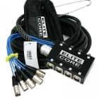 Elite Core 8 Channel 30' ft Pro Audio Stage Cable XLR Mic Sub Snake - PS8030 image