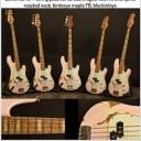 Sandberg California II LTD, Shell Pink (Relic) / Roasted Birdseye Maple Fretboard *RARE-Only 5 Made!