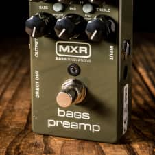 MXR M81 Bass Preamp Pedal - Free Shipping