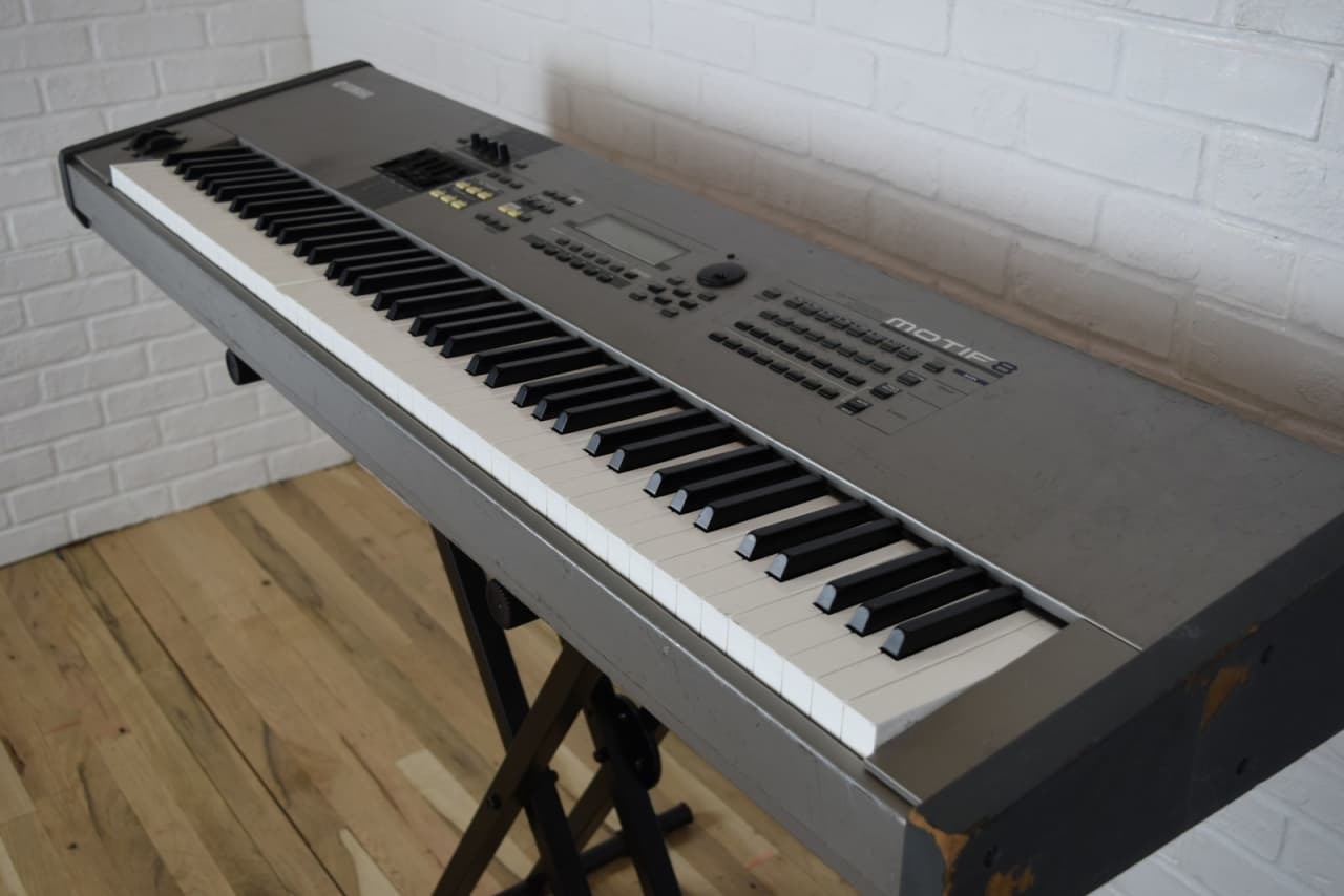 Yamaha Weighted Keys Used