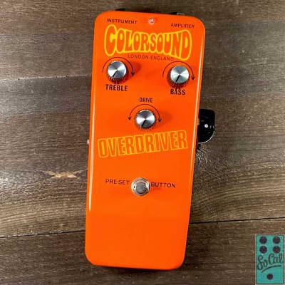 Sola Sound Colorsound Overdriver by Stu Castledine! for sale