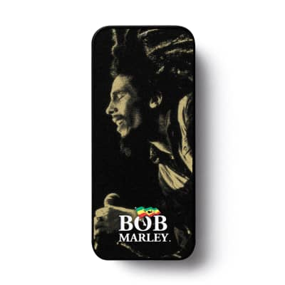 Dunlop BOBPT08M Bob Marley Gold Series Medium Guitar Pick Tin (6-Pack)
