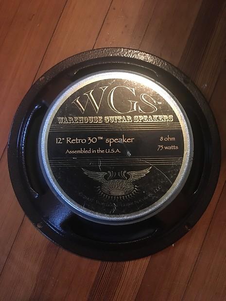 """NEW WGS RETRO 30 12/"""" Guitar Speaker 8ohm 75w"""