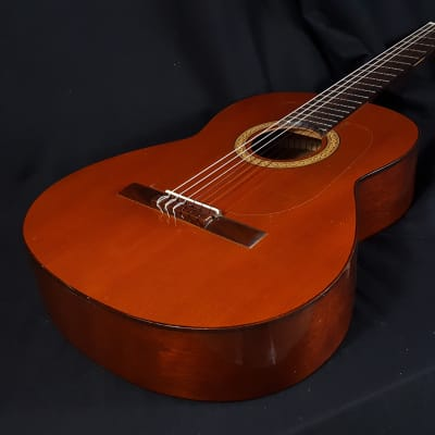 USED 1977 Pimentel & Sons Model 001 Classical Guitar w/ Tap Plates & Hard Case for sale