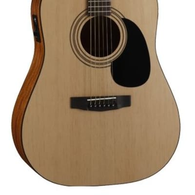 Cort Standard Series AD810 Acoustic/Electric Guitar, Open Pore Natural, Free Shipping