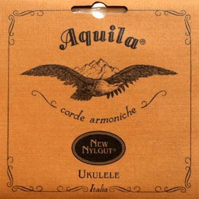 Aquila 16U New Nylgut Wound Low G Tenor Ukulele String, AQ-4TENORLOWG for sale