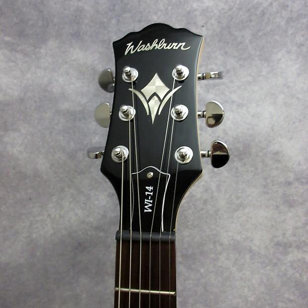 washburn wi14 electric guitar black reverb. Black Bedroom Furniture Sets. Home Design Ideas
