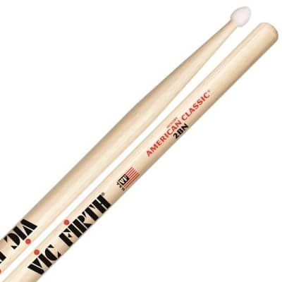 Vic Firth American Classic 2BN Nylon Tip Drum Sticks