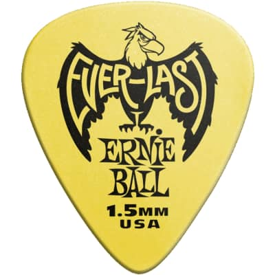 Ernie Ball Everlast Guitar Picks - 1.5 mm, 12 Pack for sale