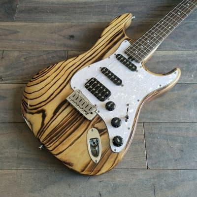 Bacchus Japan Handmade Series G-Studio (ASH DK NA-BN) HSS Stratocaster for sale