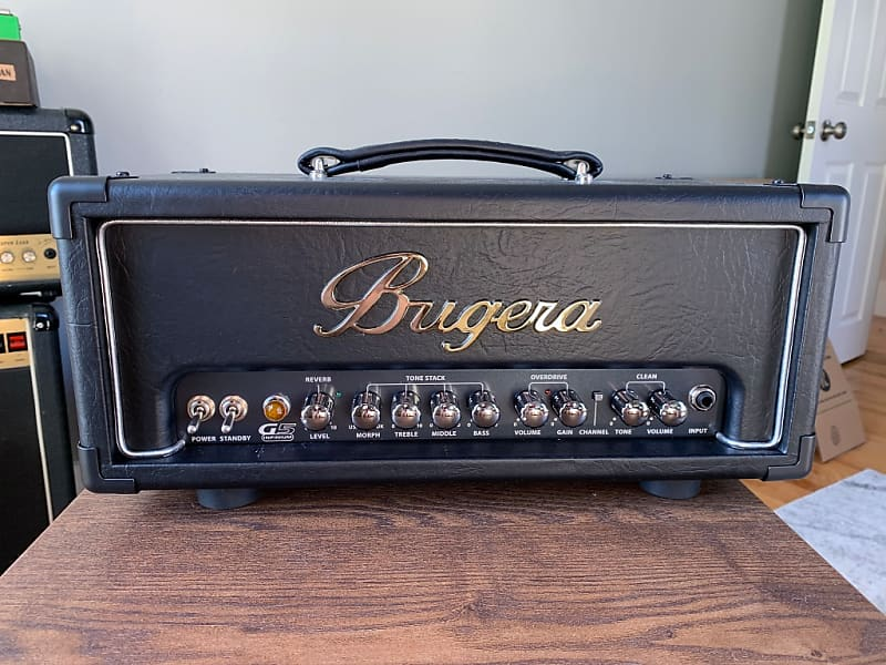 bugera g5 infinium 5w class a tube amp head w channel reverb. Black Bedroom Furniture Sets. Home Design Ideas