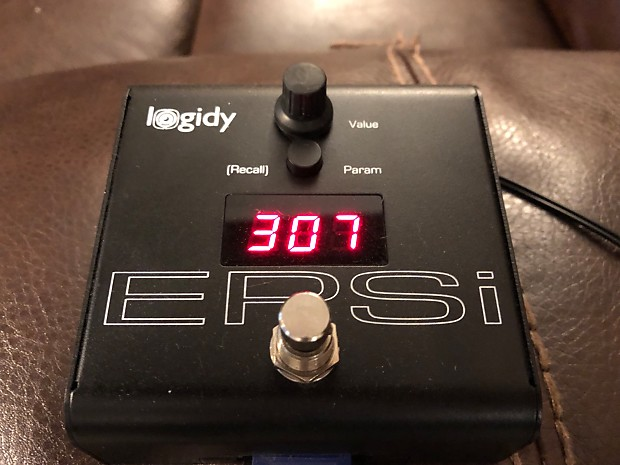 Logidy EPSi Impulse Response Loader Black