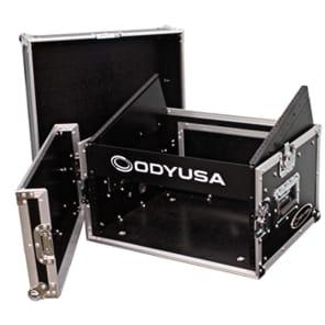 Odyssey FR0804 Flight Ready Rack Case with 8U Top and 4U Bottom