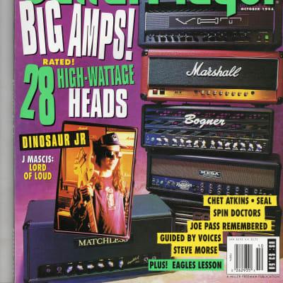 '94 Guitar Player October J Mascis Dinosaur Jr Chet Atkins Joe Pass Guided By Voices  Thee Hypnotics