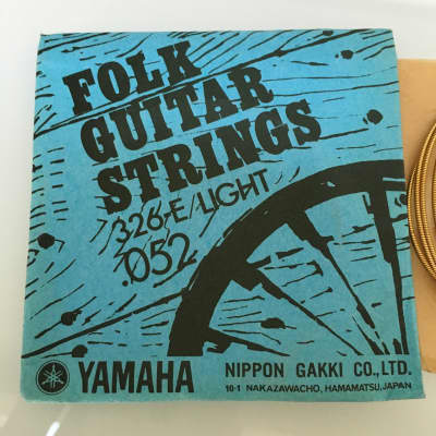 Yamaha Vintage Folk Guitar String 326-E .052 for sale
