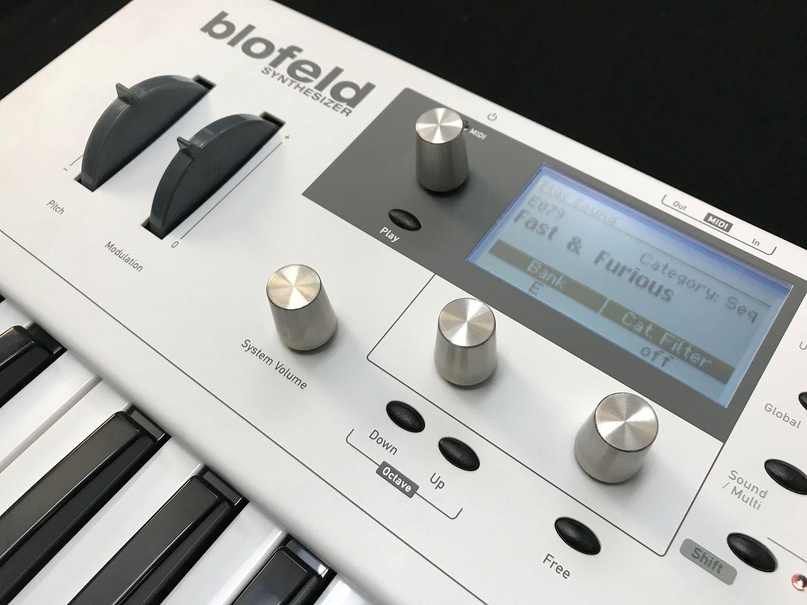WALDORF Blofeld 49 Keyboard Abdeckung von Viktory