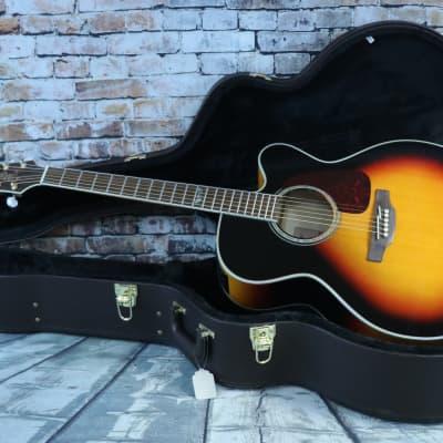 Takamine Takamine  GJ72CE  Jumbo Acoustic/Electric guitar With Takamine Hard-shell Case for sale