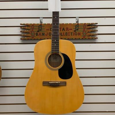 Rogue Dreadnaught Acoustic Guitar 2000 Natural/Black for sale