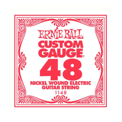 Ernie Ball Nickel Wound Single String 048