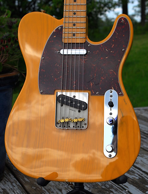 Fender Standard Telecaster Ash 2012 Butterscotch Blonde