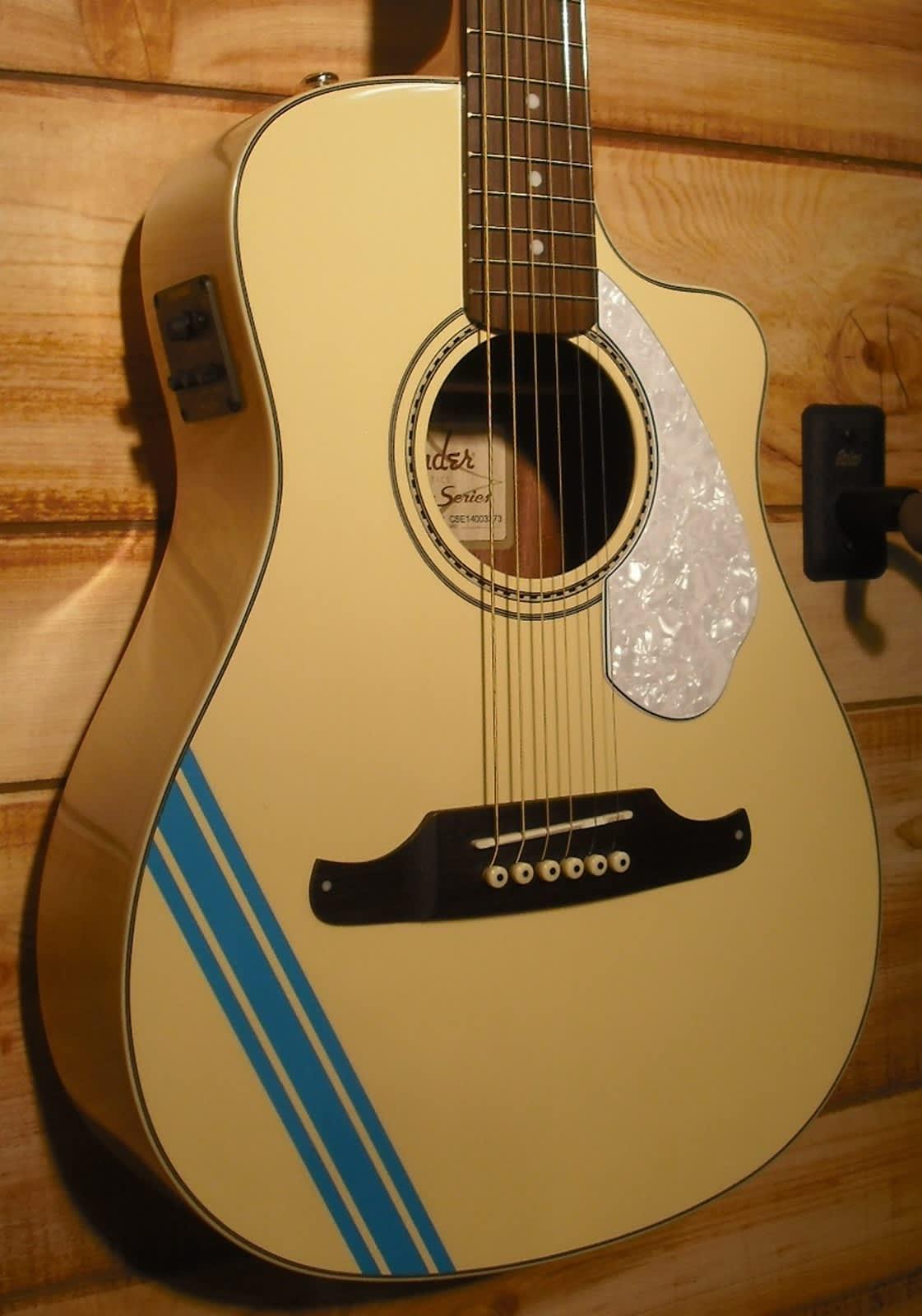 new fender malibu ce mustang acoustic electric guitar reverb. Black Bedroom Furniture Sets. Home Design Ideas