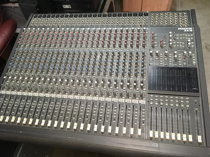 Mackie 24 8 24-Channel 8-Bus Mixer | Los Angeles Garage | Reverb