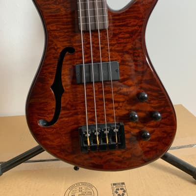 Spector SpectorCore 4 Walnut 4 string fretless bass for sale