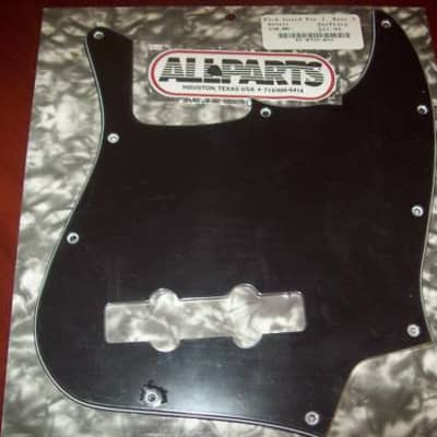 Pickguard For Fender Mexican Standard Jazz Bass, 3-Ply - BLACK