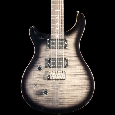 PRS SE Custom 24 Left Handed Guitar in Charcoal Burst