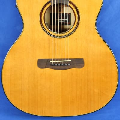 Merida DG15-SPGACES Natural Grand Auditorium Acoustic Electric Guitar for sale