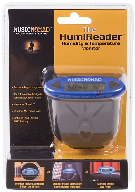 music nomad humireader temperature and humidity monitor reverb. Black Bedroom Furniture Sets. Home Design Ideas