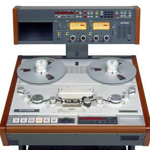"Studer A820 Master Recorder 1/4"" 2-Track Tape Machine"
