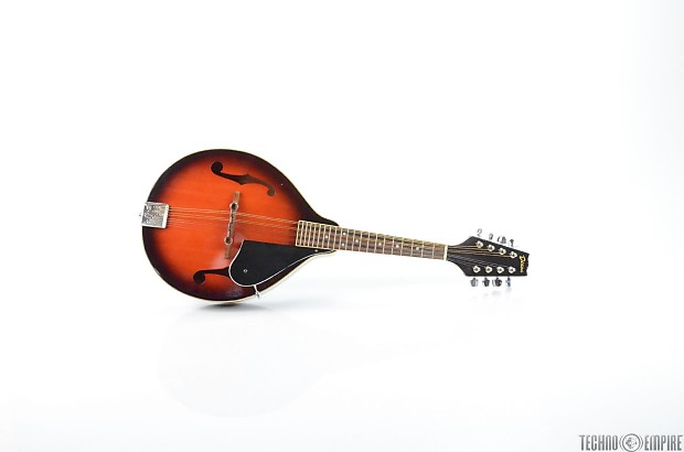 Dixon Mandolin Tobacco Burst Folk Stringed Instrument W Case Reverb