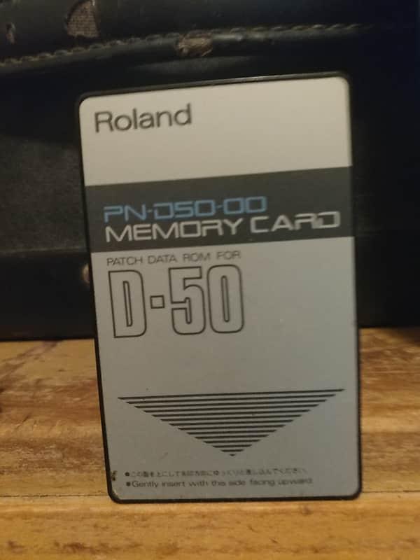 Roland D-50 Original Patch Data ROM Card   Bottin's Botiga