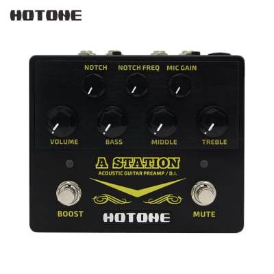 Hotone A Station Acoustic Guitar Preamp/DI