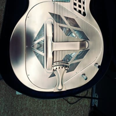 Aiersi Resonator guitar acoustic/electric for sale