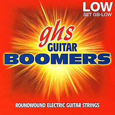 GHS Electric Boomers GBZWLO Zakk Wylde Signature Guitar Strings, Heavyweight Low Tuned (11-70)
