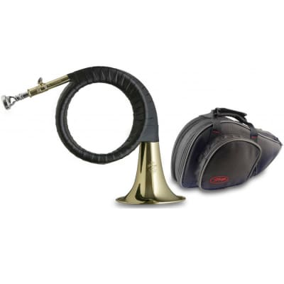 Stagg WS-FS275S Student Bb Hunting Horn w/ Case
