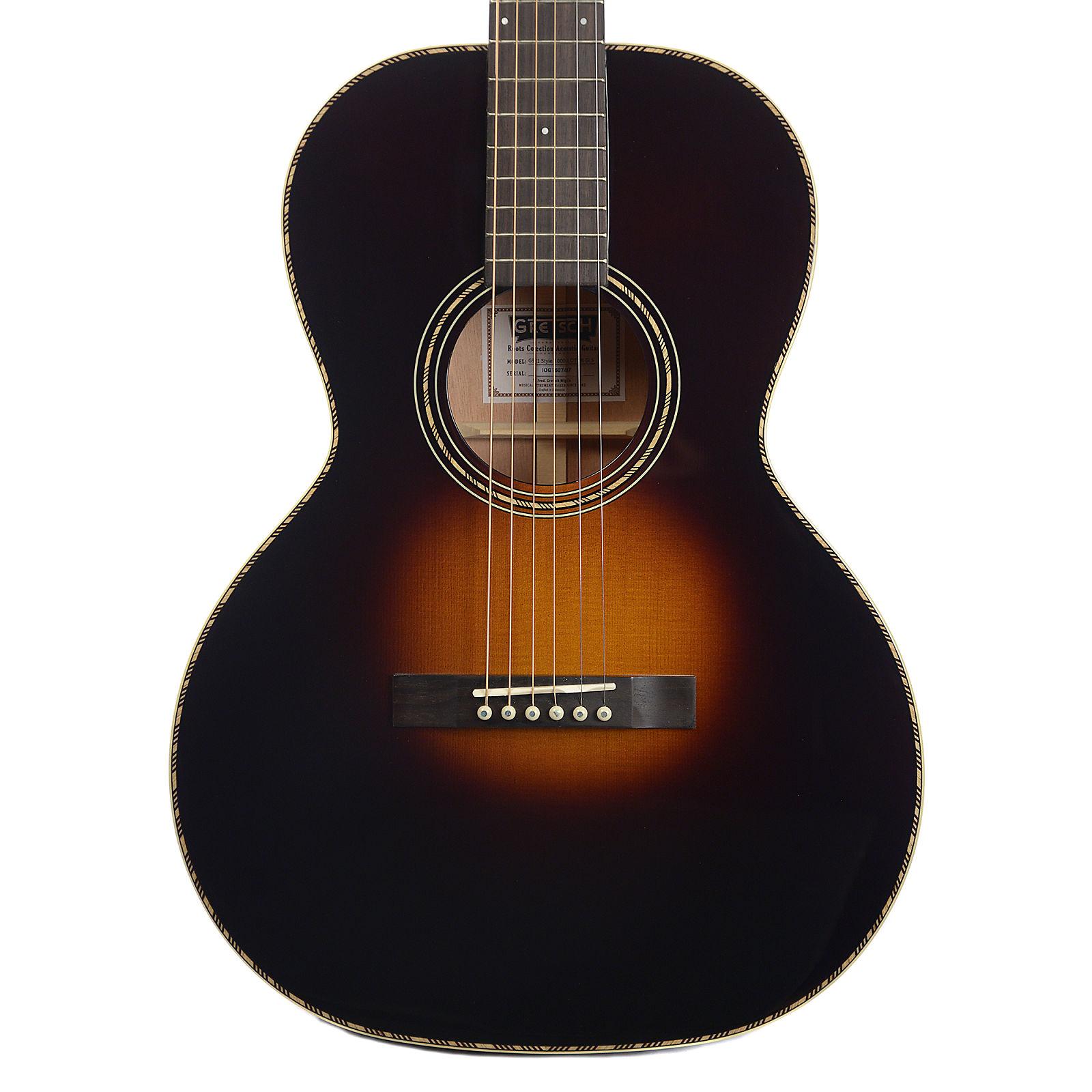 Gretsch Acoustic Guitars >> Gretsch G9521 Style 2 Triple 0 Acoustic Guitar Appalachia Burst