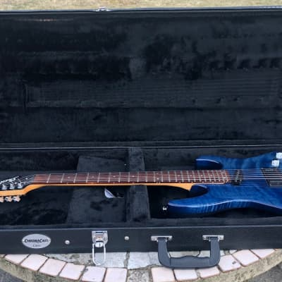Shadow Electronics G-243 1993 Blue Burst Stain. W/HSC Rare. Advanced Electronics. Discontinued for sale