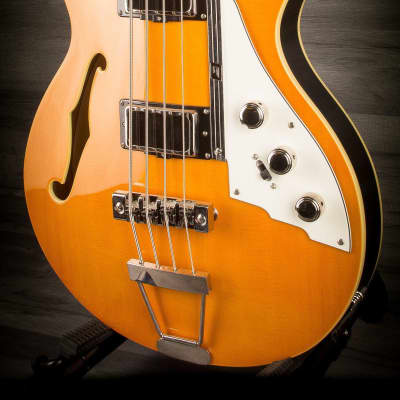 Duesenberg Starplayer Bass Trans-Orange incl. Hard case for sale