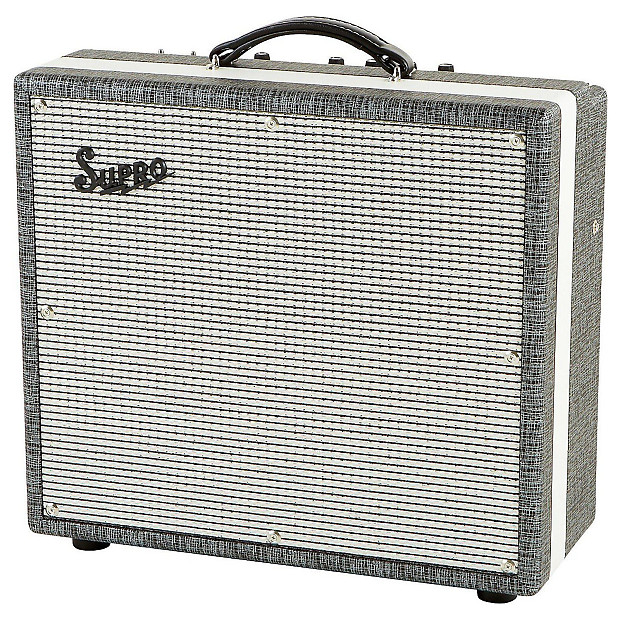 supro 1695t black magick tube electric guitar combo amplifier reverb. Black Bedroom Furniture Sets. Home Design Ideas