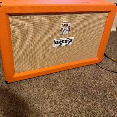 Orange PPC212 2x12 120w Guitar Cabinet 2010s Orange