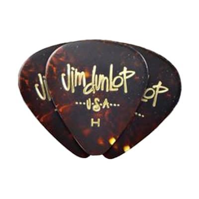 Dunlop 483P05MD Celluloid Standard Classics Medium Guitar Picks (12-Pack)
