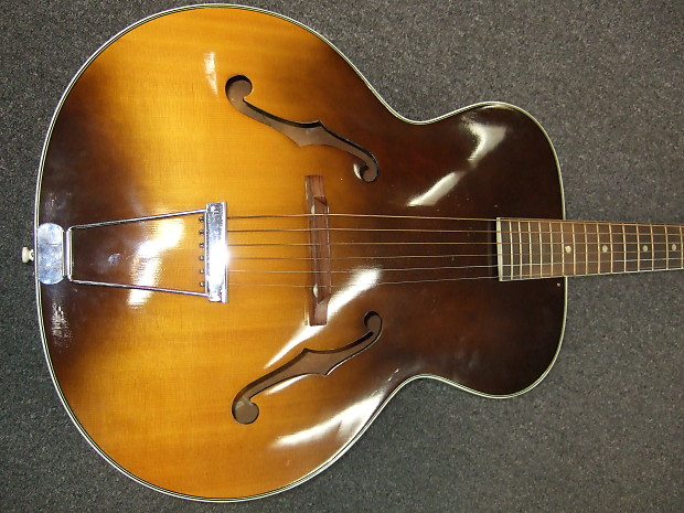 Harmony Monterey H1456 Guitar 1957 2 Tone Sunburst