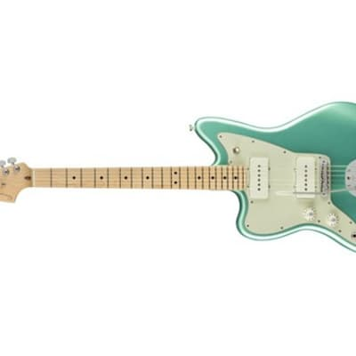 Fender American Professional Jazzmaster Left-Handed Electric Guitar (Mystic Seafoam) (Used/Mint)